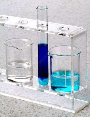 Ammonia and copper sulphate reaction