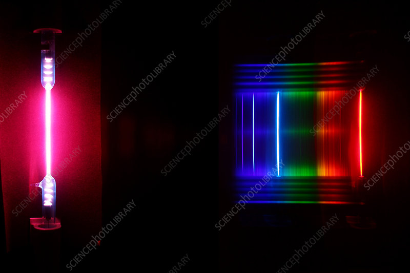Water spectra