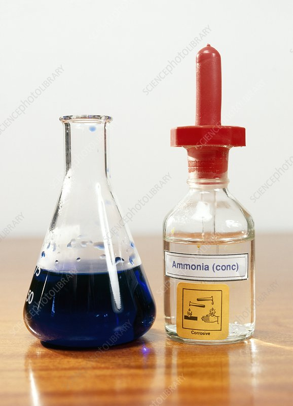 Copper (II) reaction