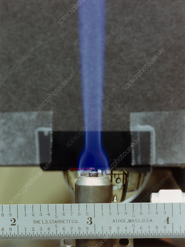 Bunsen burner flame