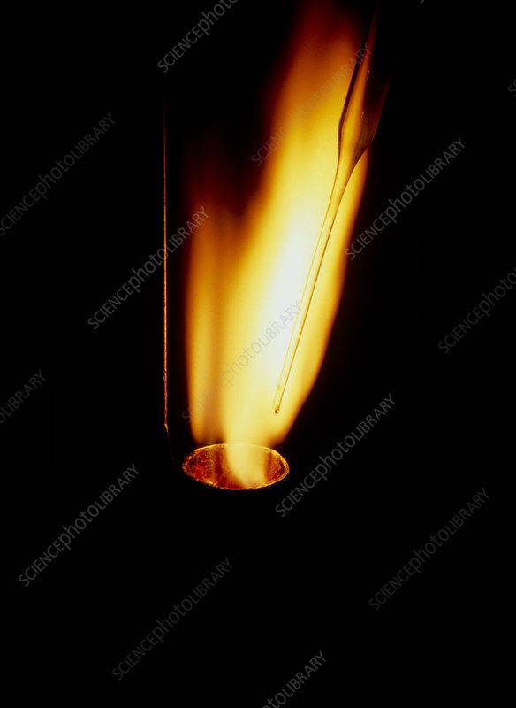 Phosphorus burning in chlorine gas
