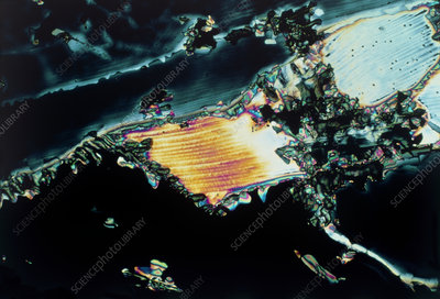 Zinc sulphate crystals