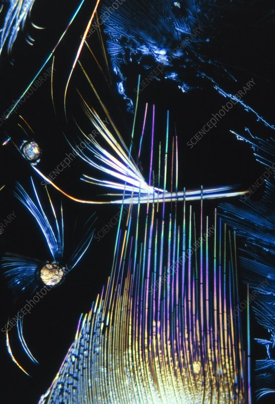 TNT explosive crystals