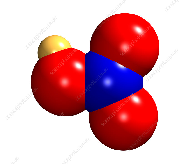 Nitric acid molecule