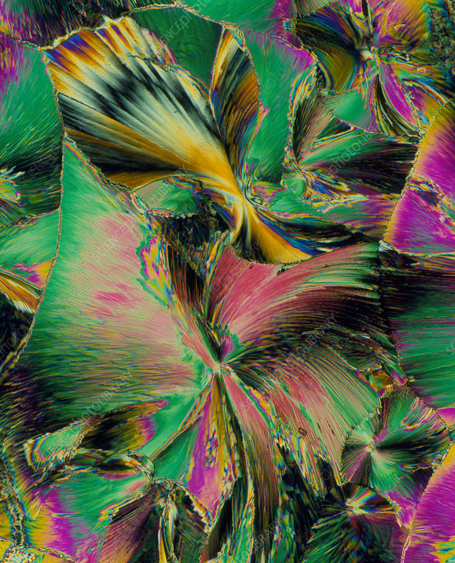 Folic acid crystals