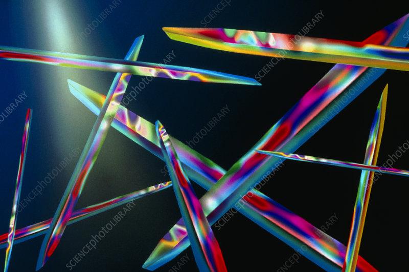 Vitamin D crystals