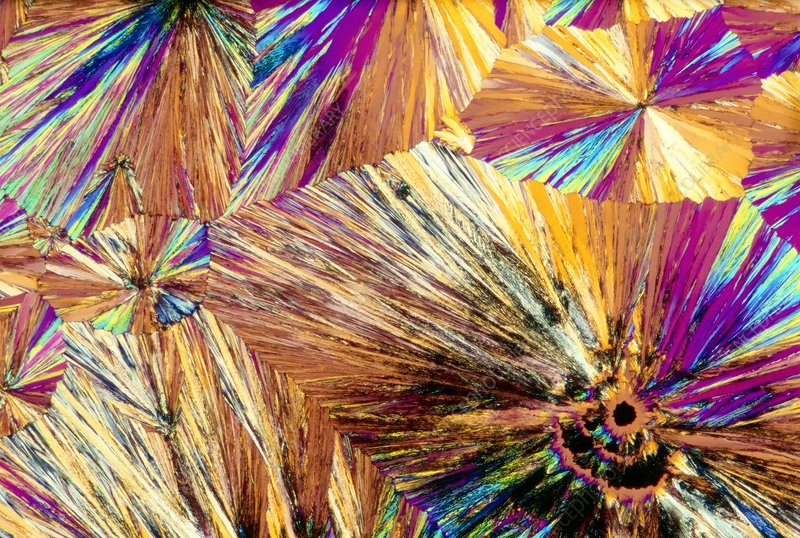 Crystals of Aspirin