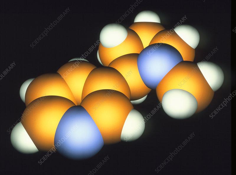 Nicotine Molecule Stock Image A624 0115 Science Photo