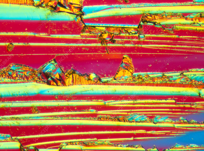 LM of thin section of silicon