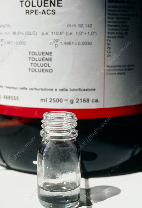 Sample of toluene