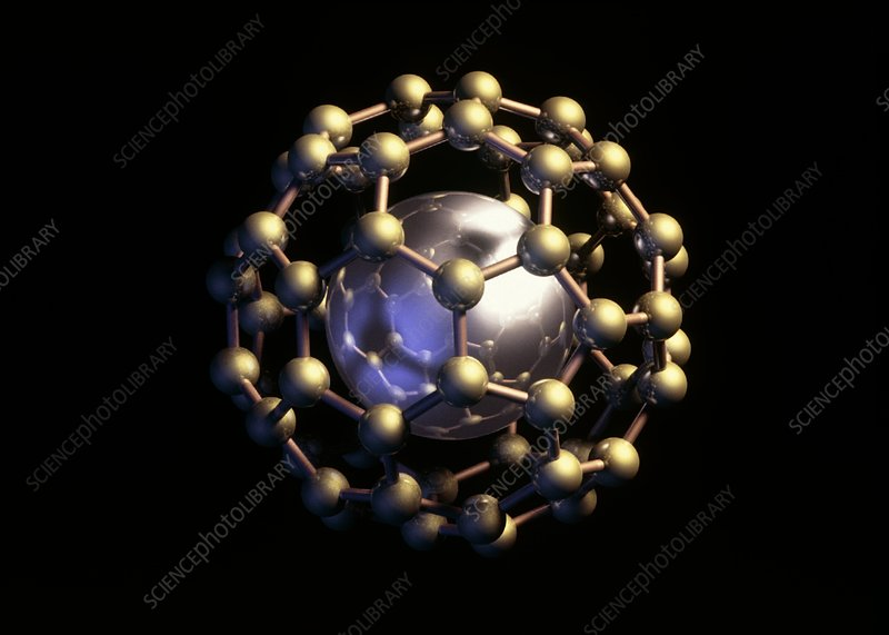 Potassium ion in buckyball