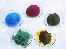 Transition metal salts