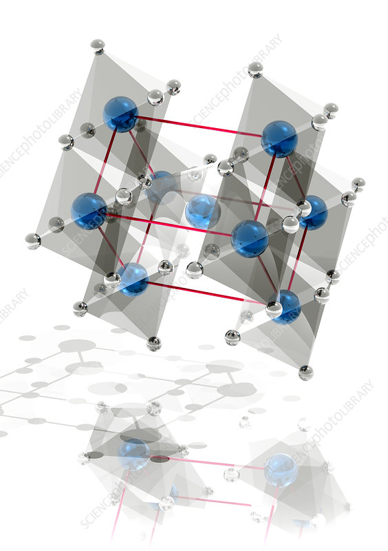 Rutile crystal structure