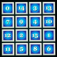 Most perfect magic square