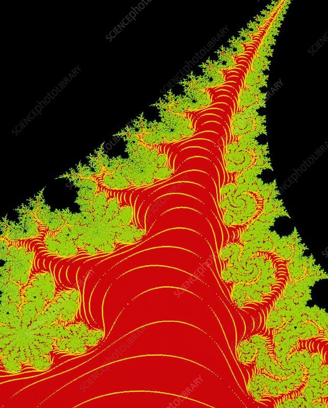 Mandelbrot set:- Dragon's tail