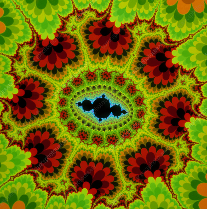 Fractal geometry: Julia set image