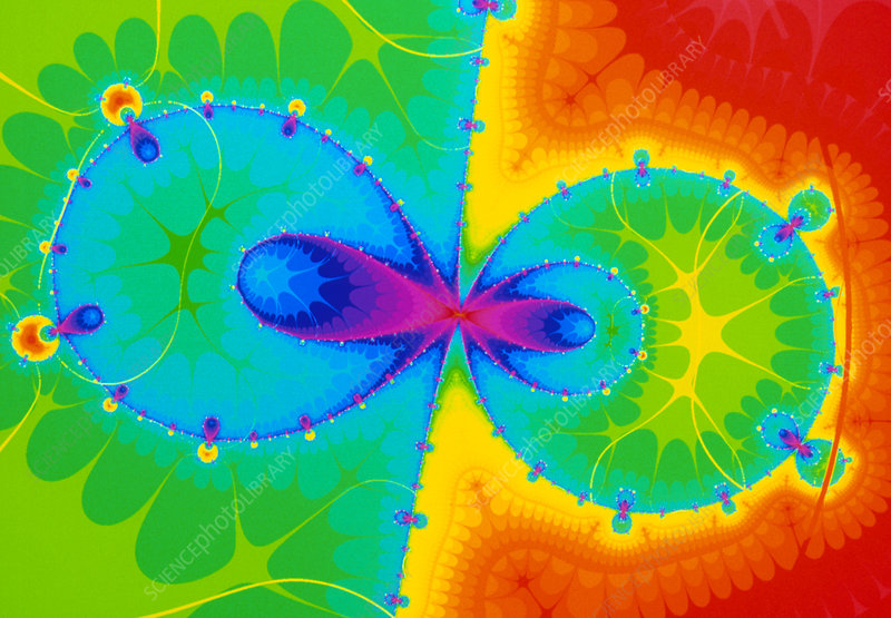 'Yin Yang' - Halley fractal