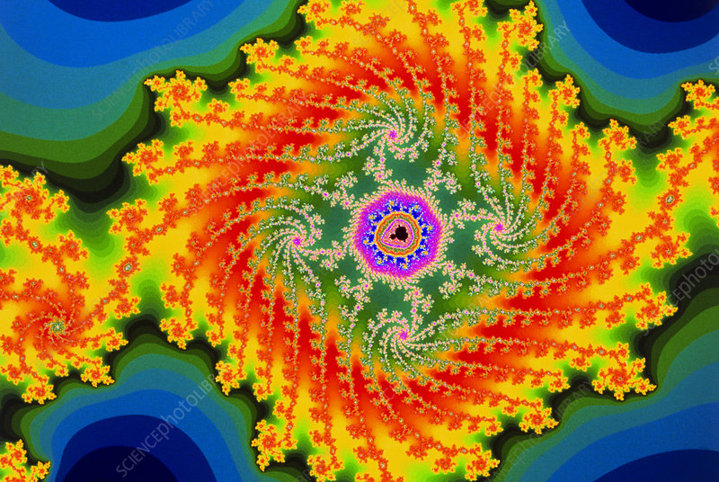 Fractal image of the Mandelbrot set