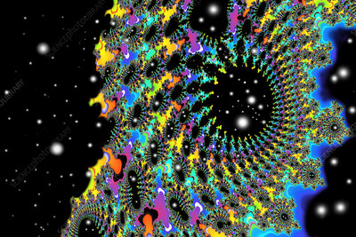 Fractal of a wormhole