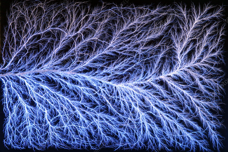 Electrical Discharge (Lichtenberg Figure)
