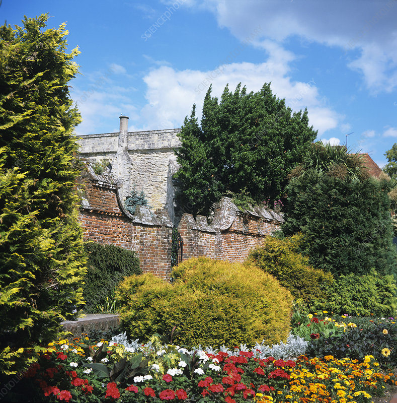 The Bishop's Palace gardens, Chichester