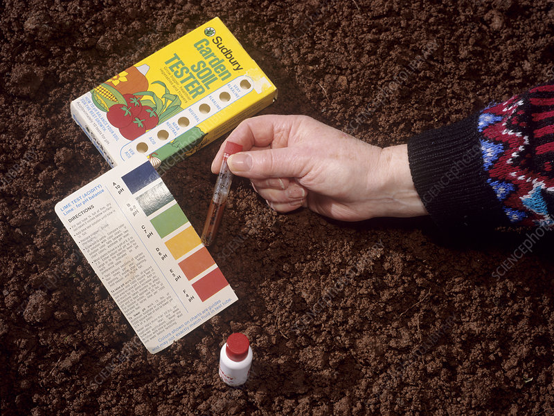 Soil acidity testing