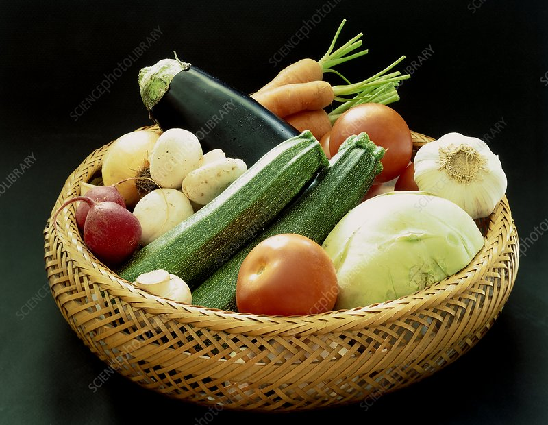 Selection of vegetables.