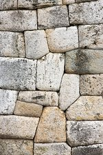 Inca wall, close-up