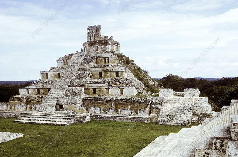Edzna, Mayan Pyramid, Mexico