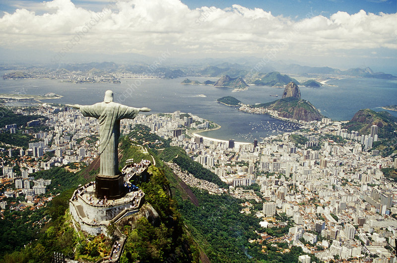 Christ the Redeemer, Corcovado, Brazil