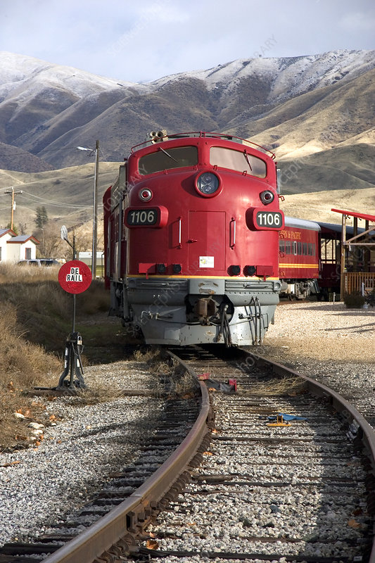 Idaho Northern and Pacific train