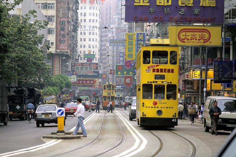 Trolley car, Hong Kong