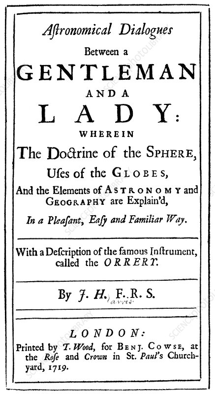 Astronomical explanation, historical book