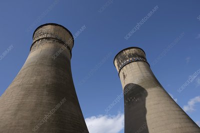 Tinsley cooling towers, Sheffield