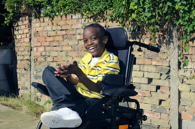 Cerebral palsy child