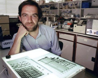 Alec Jeffreys, British geneticist