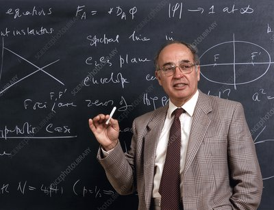 Michael Atiyah, British mathematician