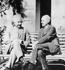 Einstein and Eddington, 1930