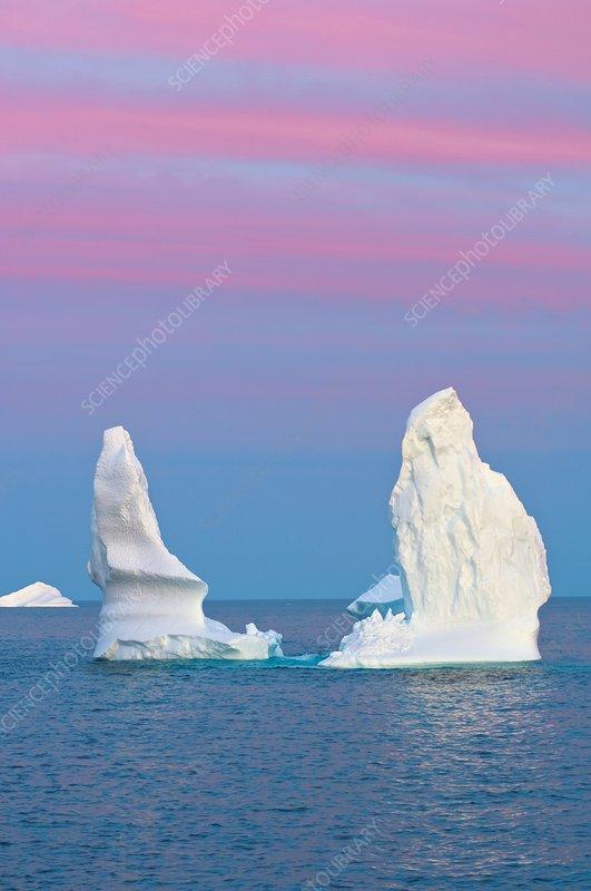 Icebergs, Canada