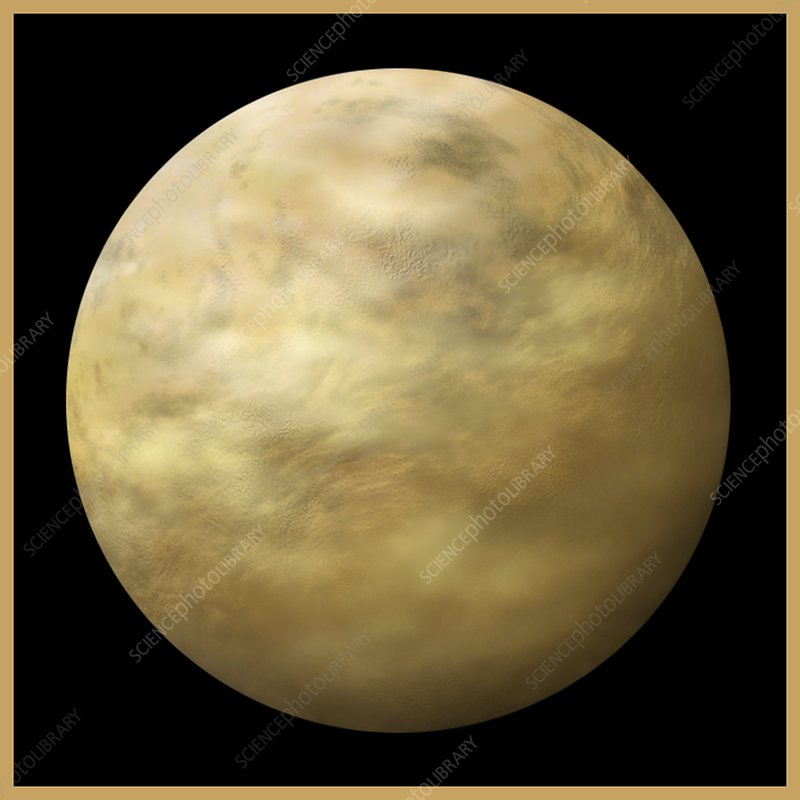 Beta Pictoris Venus-like planet, artwork