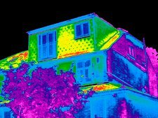 Building, thermogram