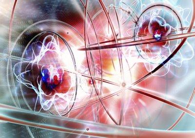 Atomic energy, conceptual artwork
