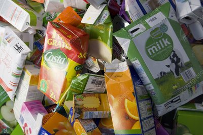 Drink carton recycling