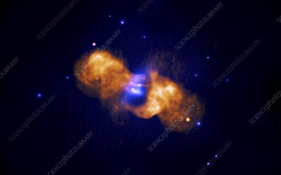 Colliding galaxies 3C442A