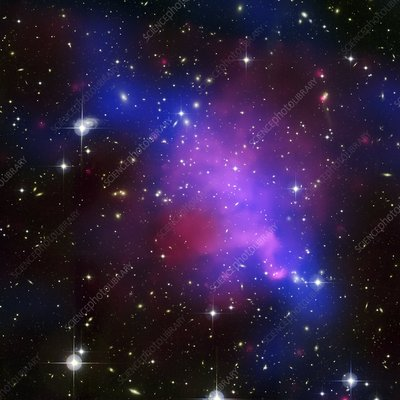 Galaxy cluster Abell 520