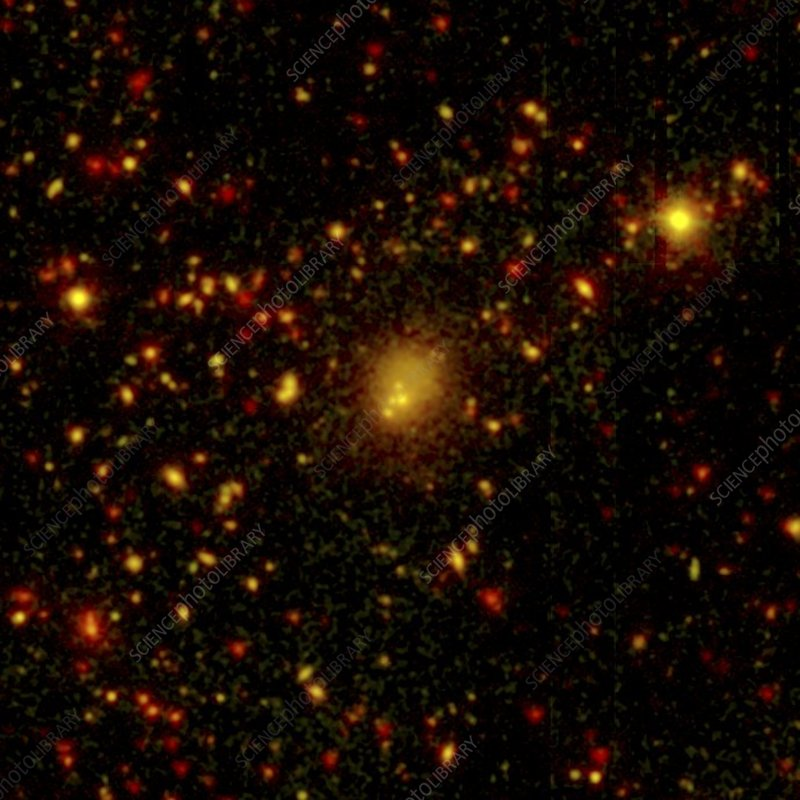 Collision in CL0958+4702 galaxy cluster