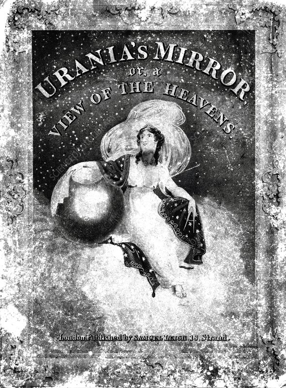 Urania's Mirror box cover, 1884