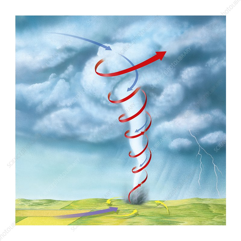 Tornado dynamics, artwork