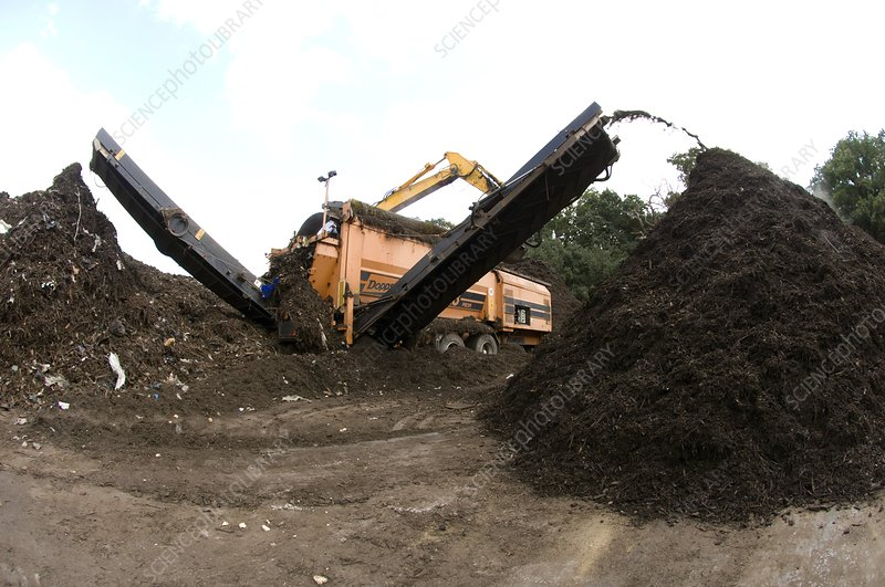 Compost production, UK