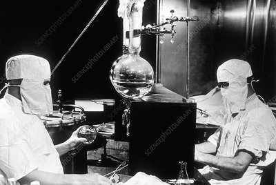 Cancer research laboratory, 1950s